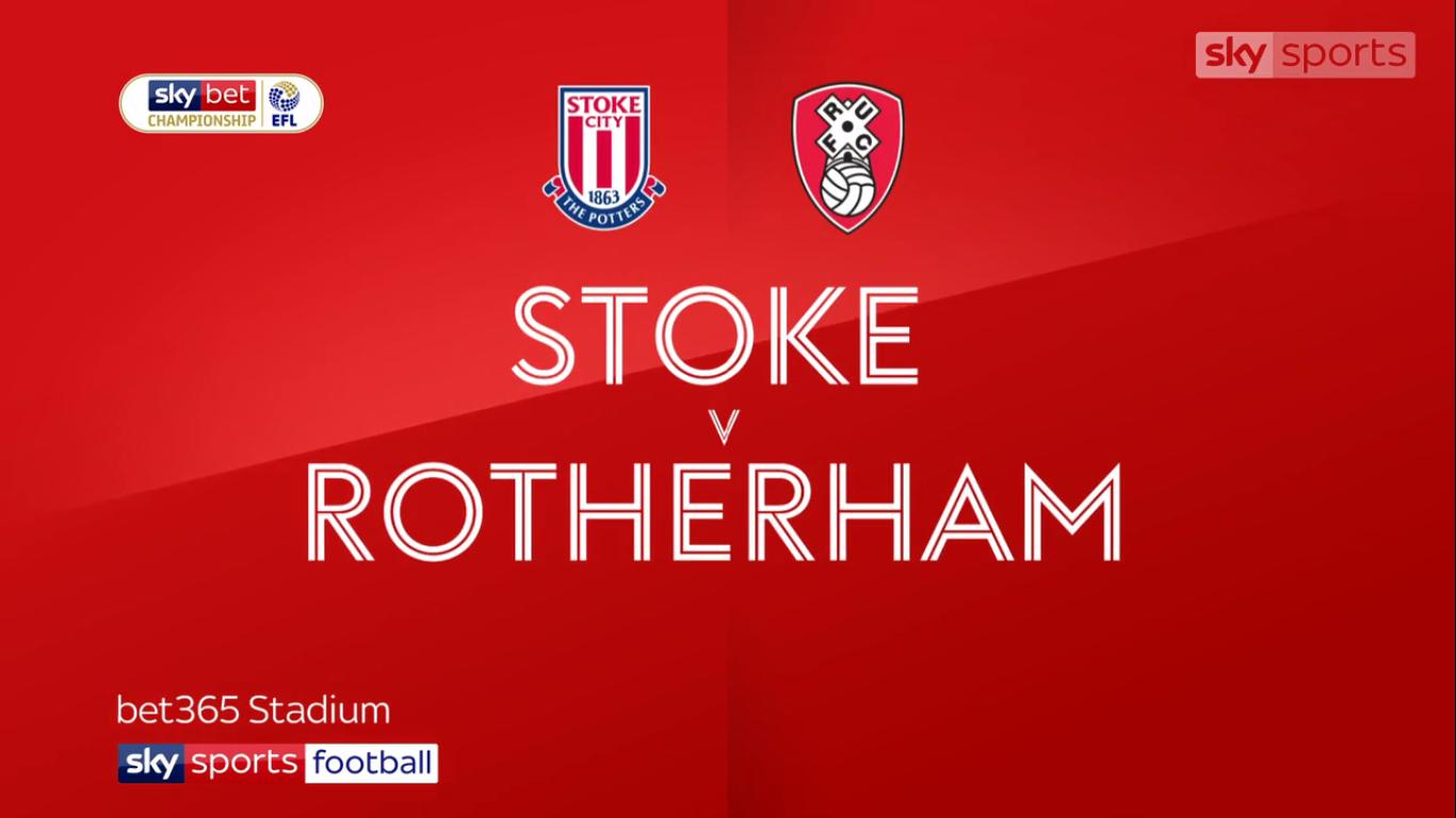 13-04-2019 - Stoke City 2-2 Rotherham United (CHAMPIONSHIP)