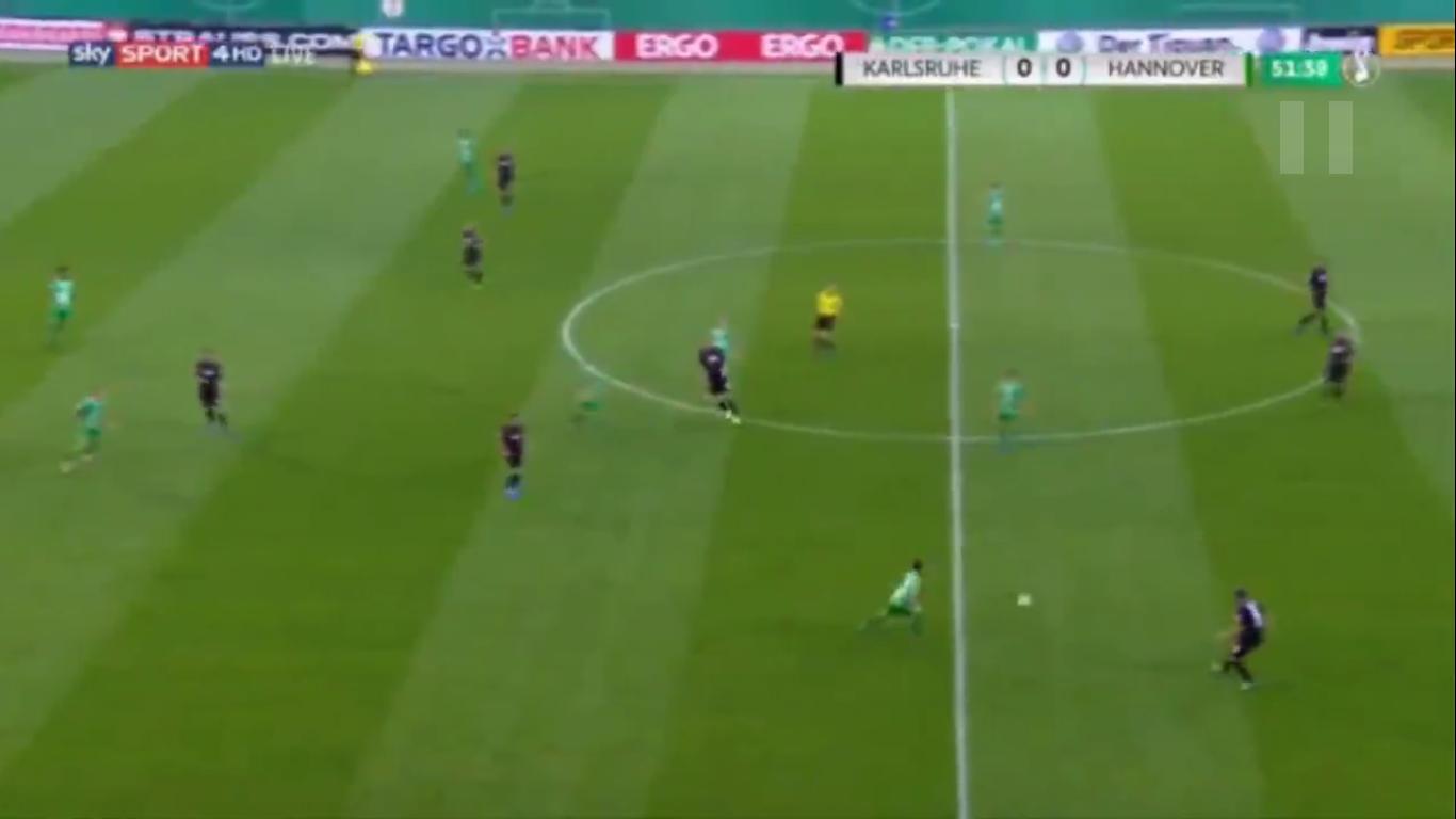 12-08-2019 - Karlsruher SC 2-0 Hannover 96 (DFB POKAL)