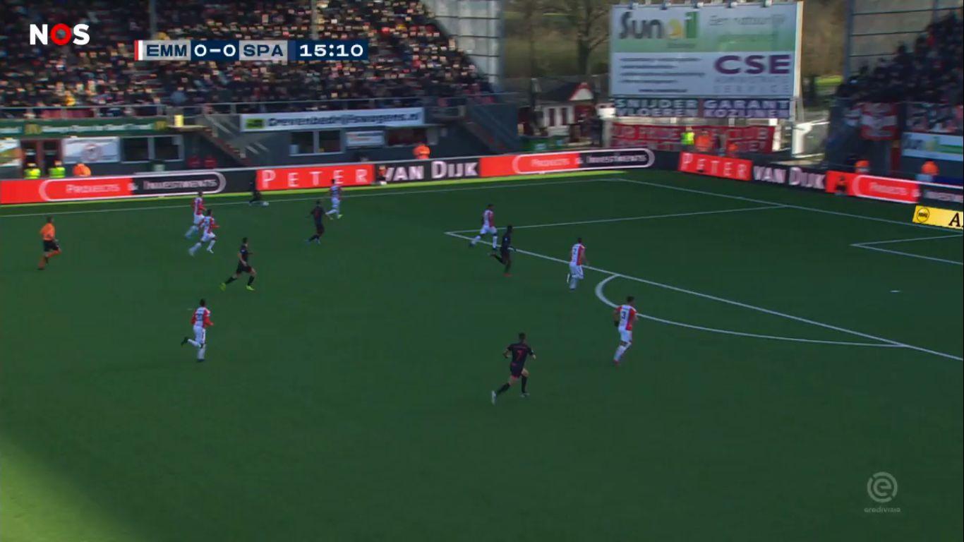 15-12-2019 - FC Emmen 2-0 Sparta Rotterdam