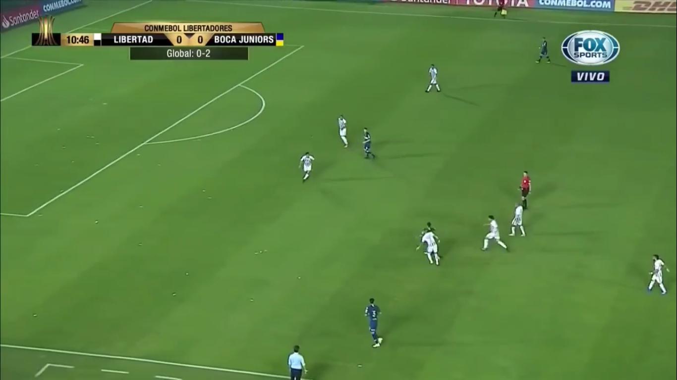 31-08-2018 - Libertad 2-4 Boca Juniors (COPA LIBERTADORES)