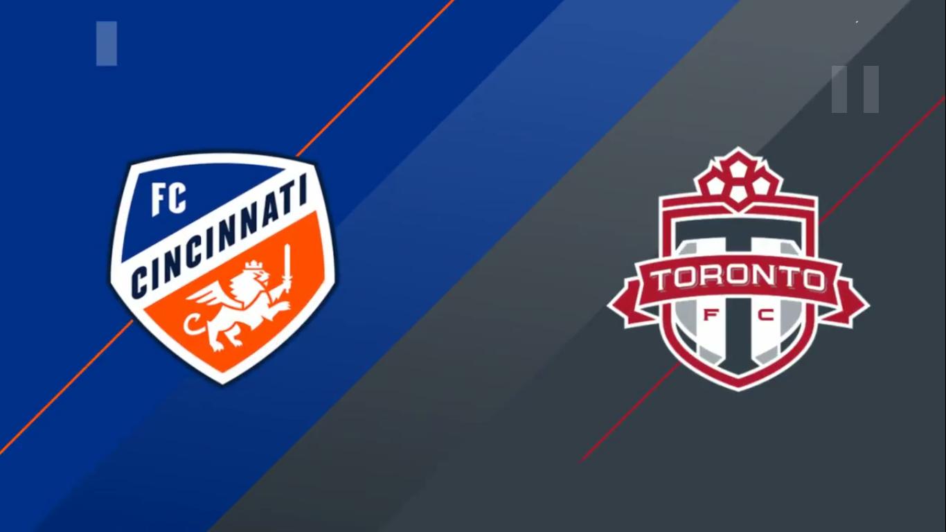 08-09-2019 - FC Cincinnati 1-5 Toronto FC