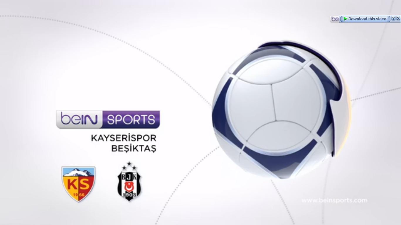 Kayserispor 1-1 Besiktas