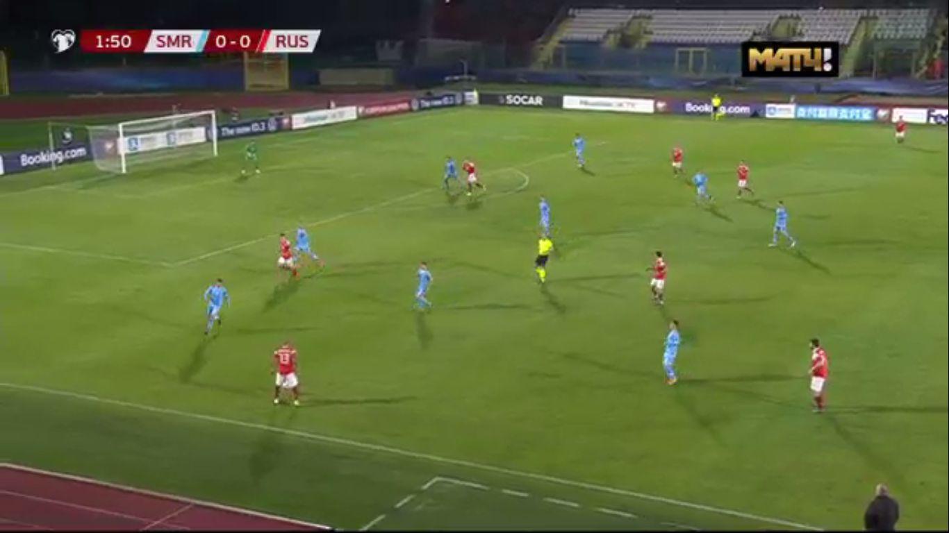 19-11-2019 - San Marino 0-5 Russia (EURO QUALIF.)