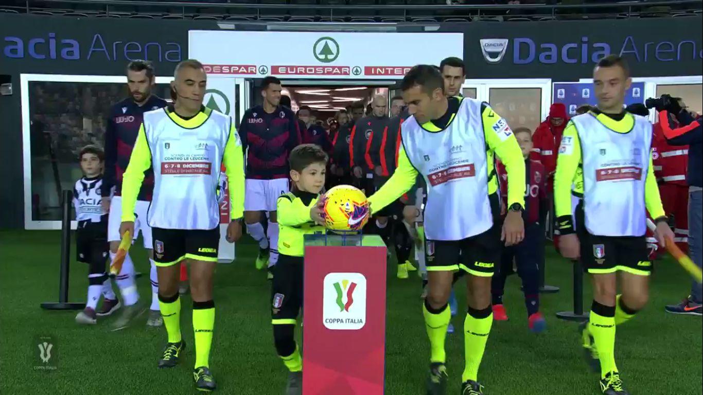 04-12-2019 - Udinese 4-0 Bologna (COPPA ITALIA)