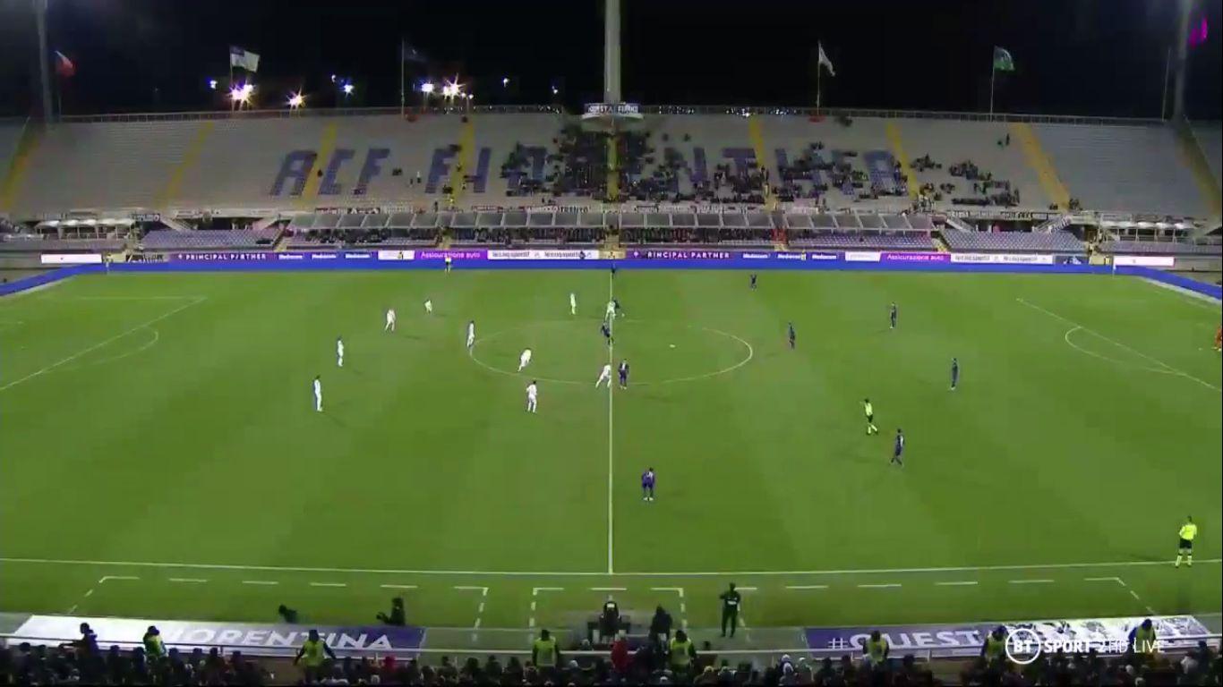 03-12-2019 - Fiorentina 2-0 Cittadella (COPPA ITALIA)
