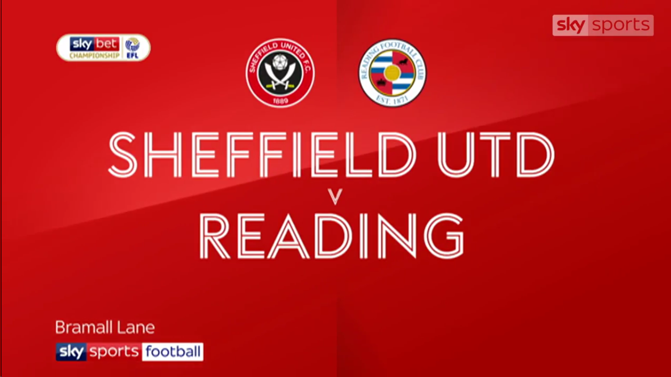16-02-2019 - Sheffield United 4-0 Reading (CHAMPIONSHIP)