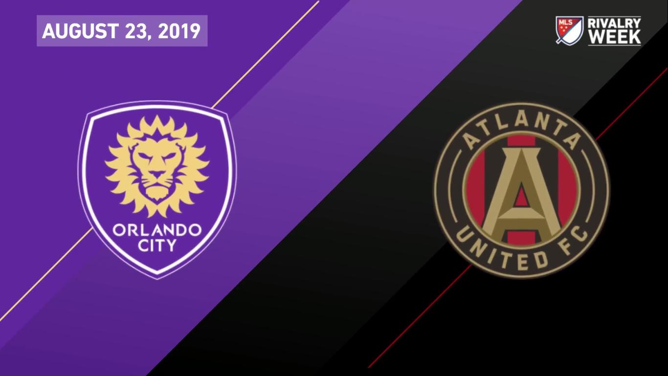 24-08-2019 - Orlando City 0-1 Atlanta United Fc