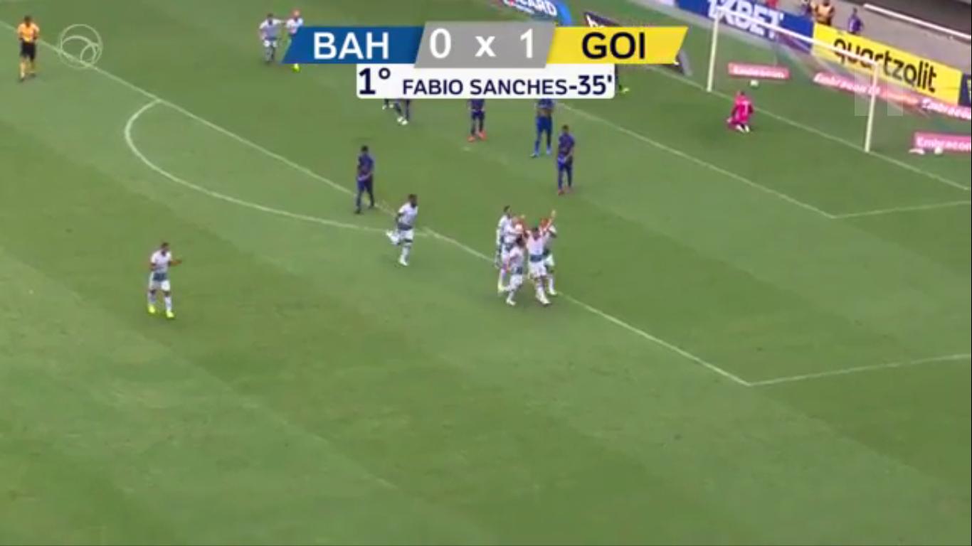 19-08-2019 - Bahia 1-1 Goias