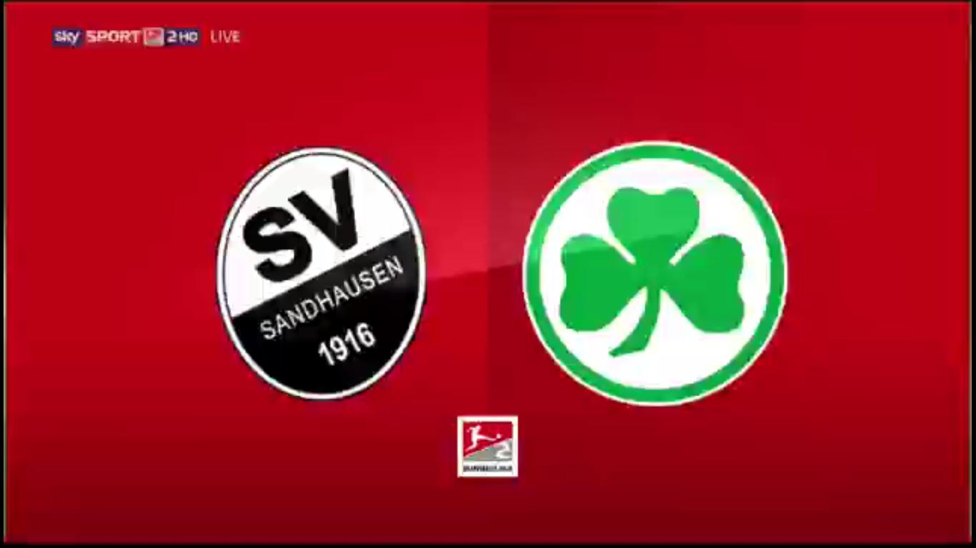 09-11-2019 - SV Sandhausen 3-2 SpVgg Greuther Furth (2. BUNDESLIGA)