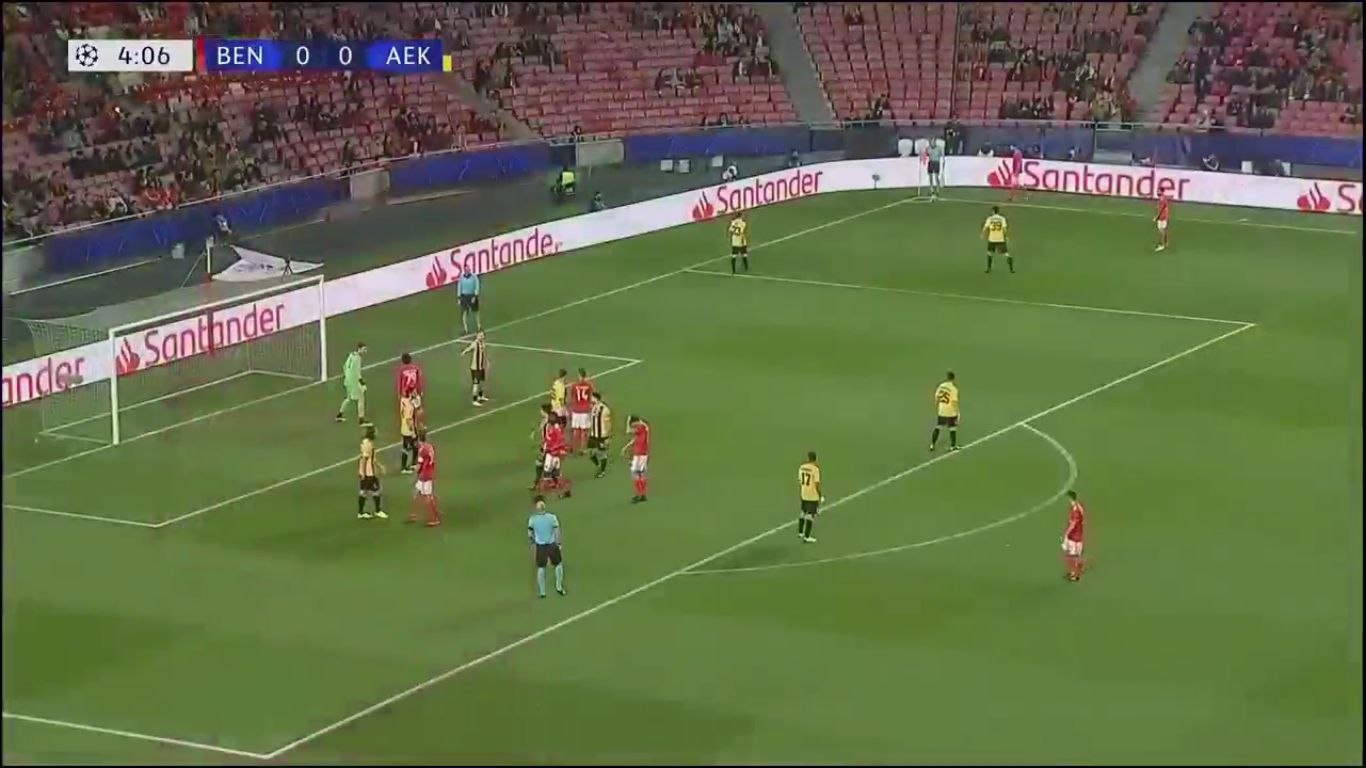 12-12-2018 - Benfica 1-0 AEK Athens (CHAMPIONS LEAGUE)
