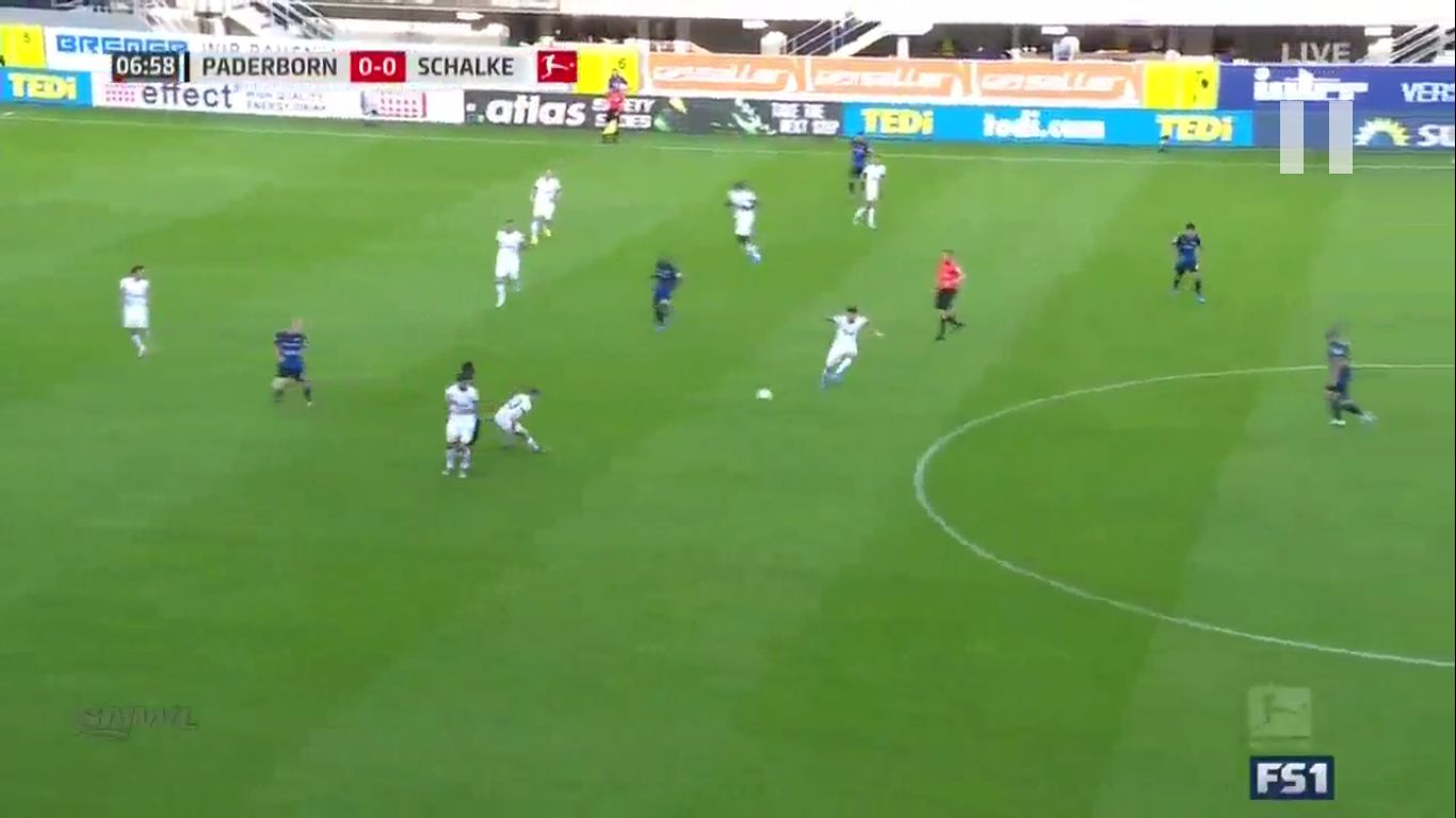 15-09-2019 - SC Paderborn 07 1-5 Schalke 04