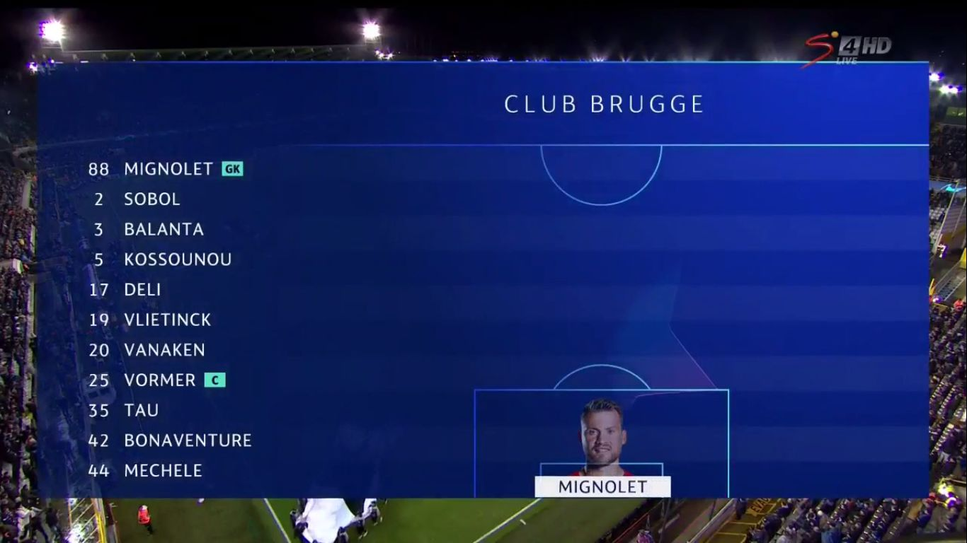 11-12-2019 - Club Brugge 1-3 Real Madrid (CHAMPIONS LEAGUE)