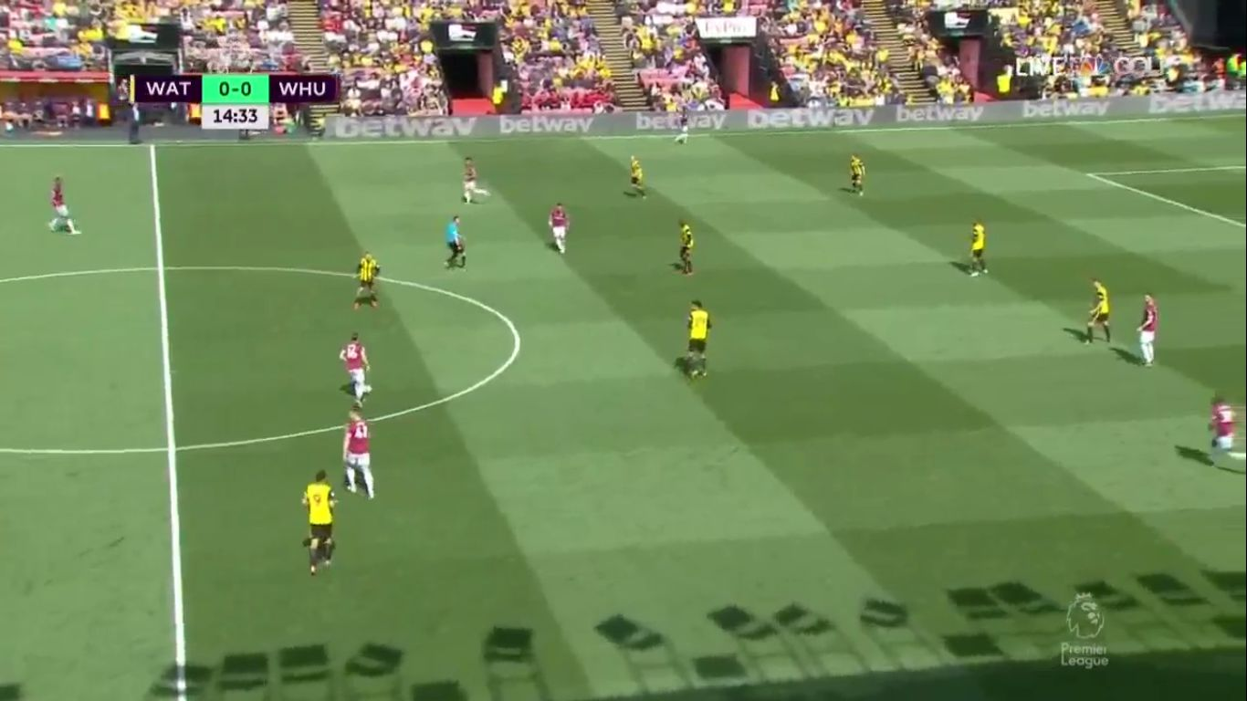 12-05-2019 - Watford 1-4 West Ham United