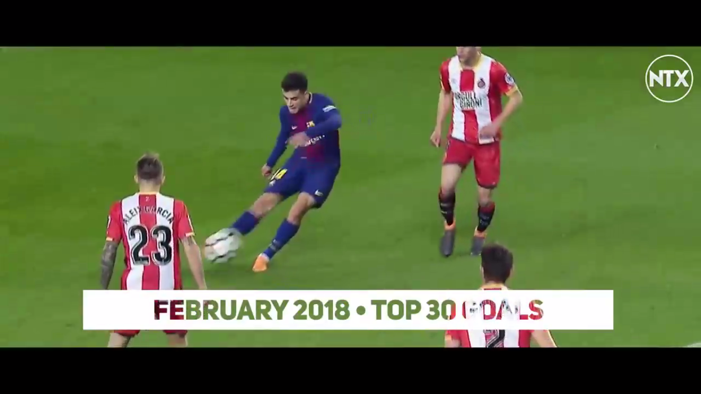 Top 30 Goals of February 2018