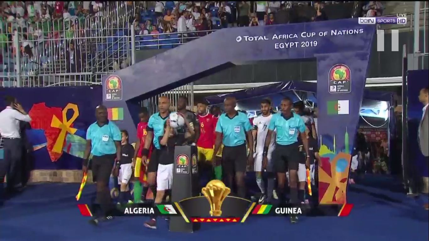 07-07-2019 - Algeria 3-0 Guinea (AFRICA CUP OF NATIONS)