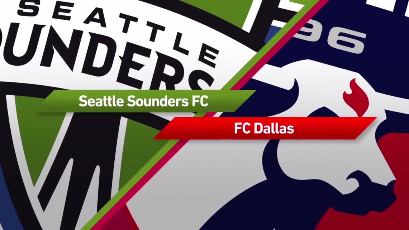 Seattle Sounders FC 4-0 FC Dallas
