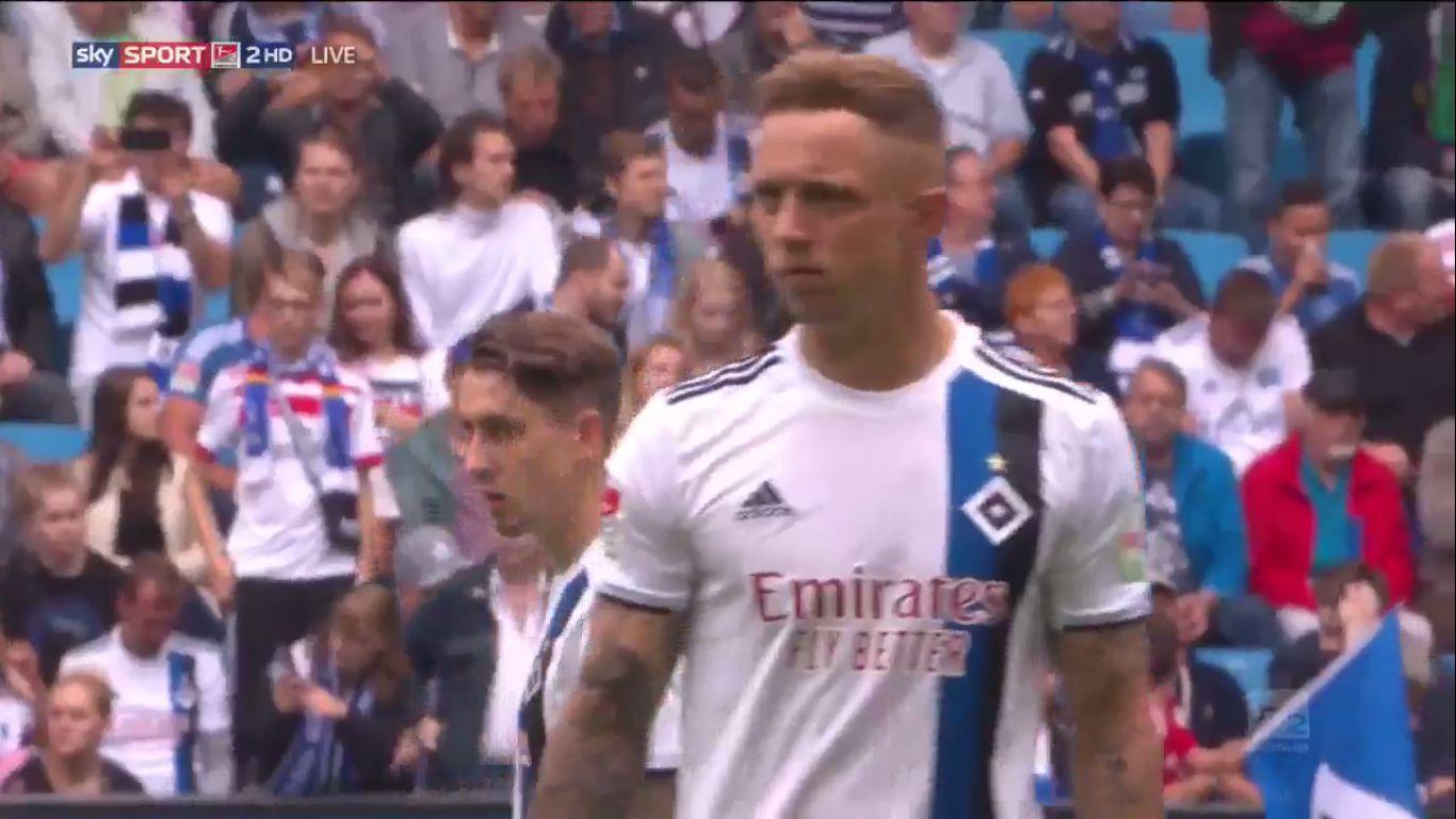 01-09-2019 - Hamburger SV 3-0 Hannover 96 (2. BUNDESLIGA)