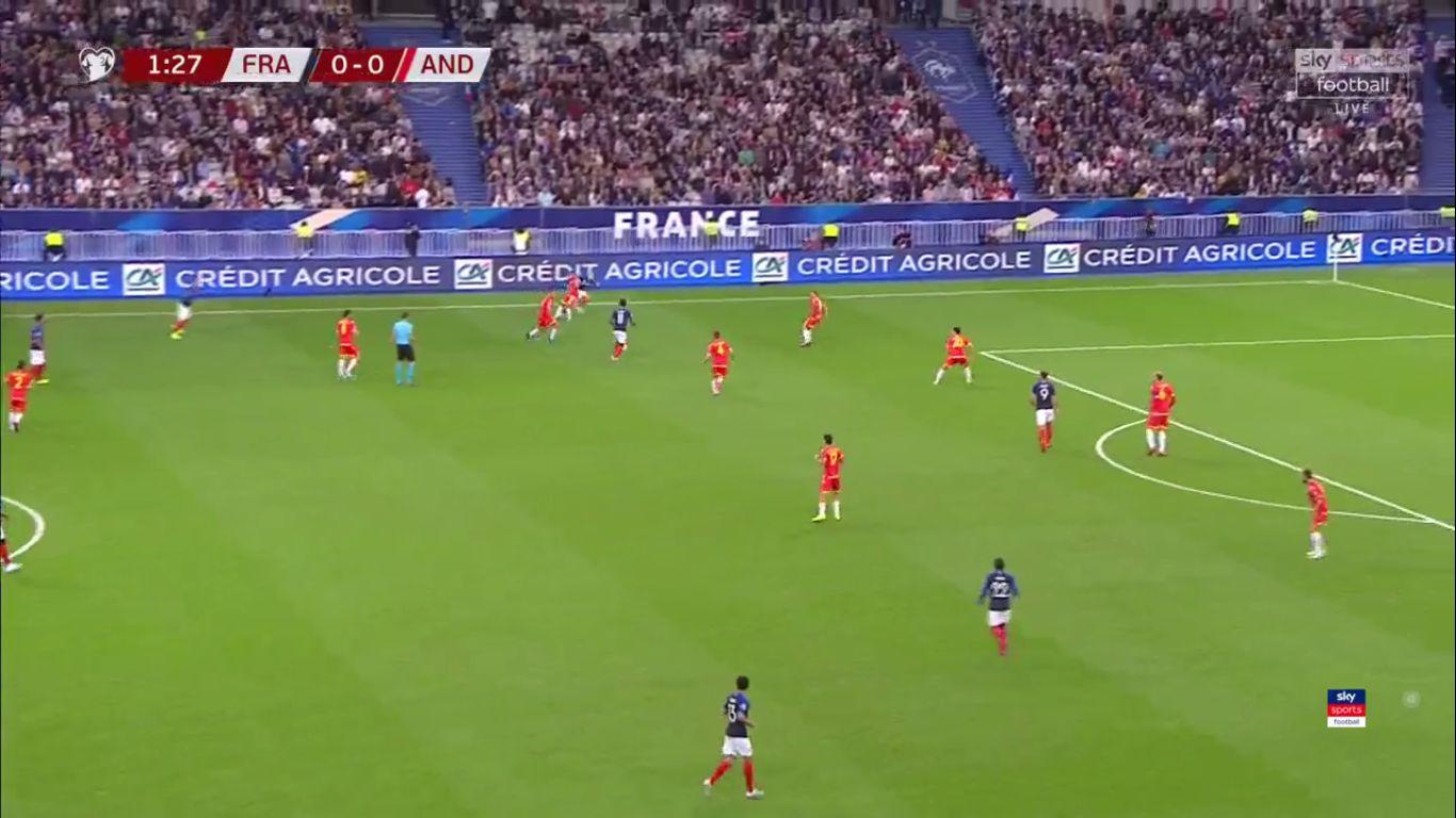10-09-2019 - France 3-0 Andorra (EURO QUALIF.)