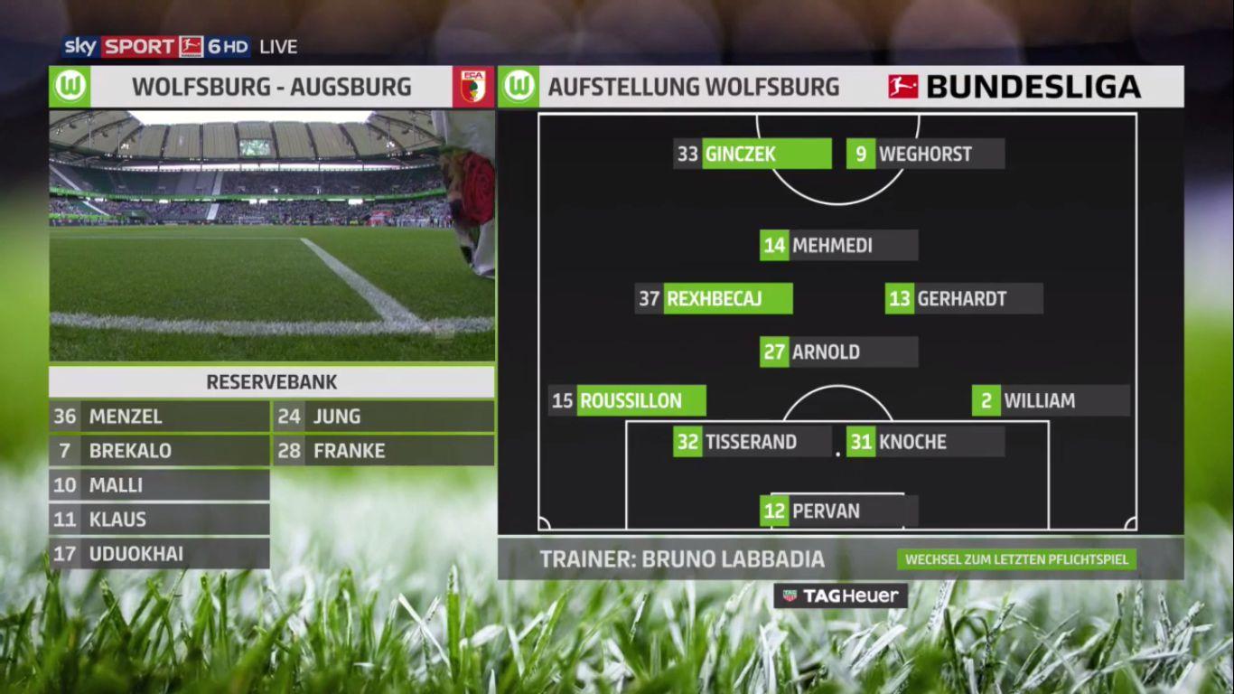 18-05-2019 - Wolfsburg 8-1 Augsburg