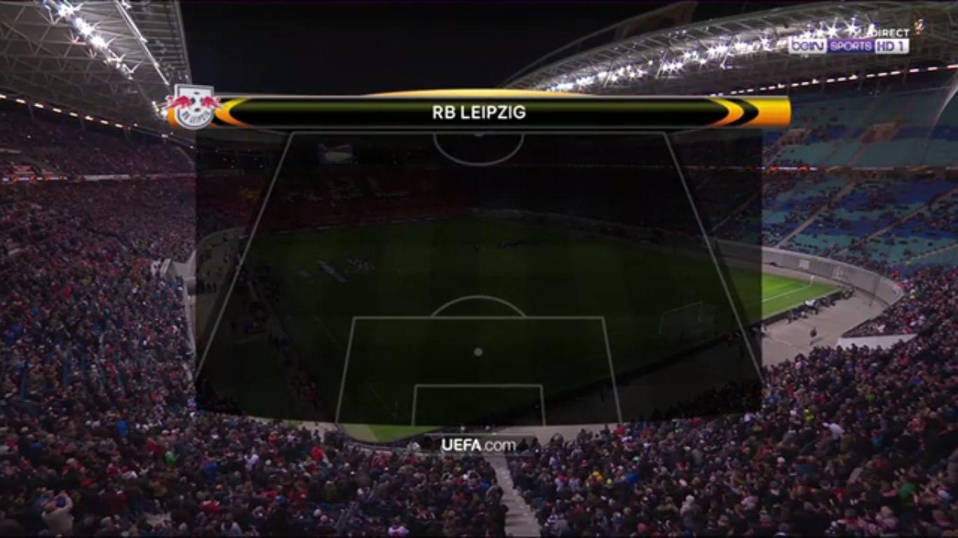 05-04-2018 - RasenBallsport Leipzig 1-0 Marseille (EUROPA LEAGUE)