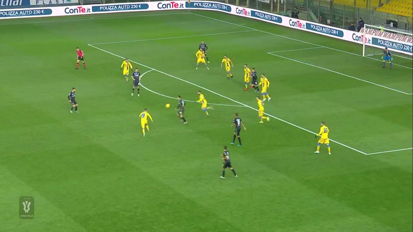 05-12-2019 - Parma 2-1 Frosinone (COPPA ITALIA)