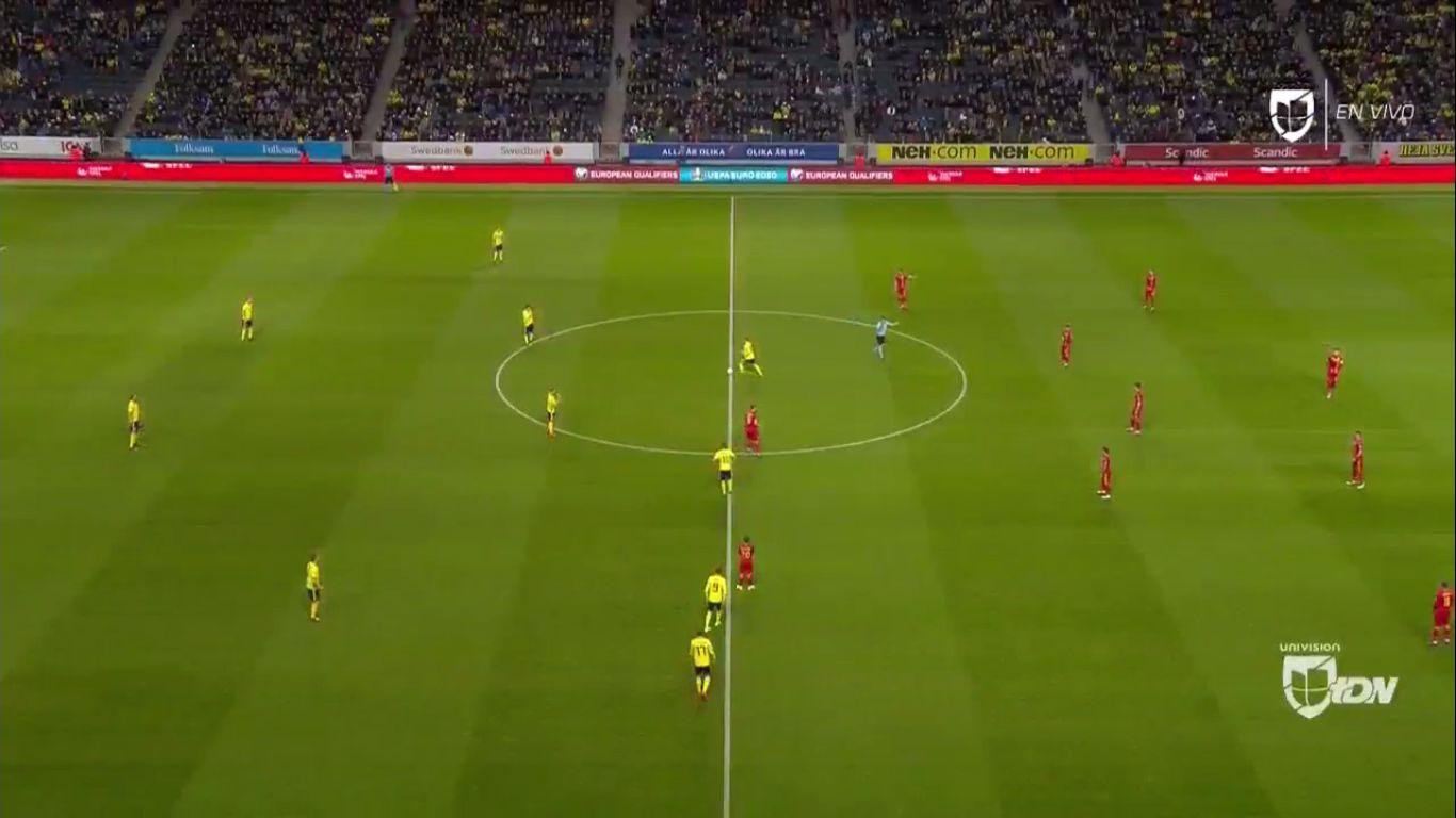 23-03-2019 - Sweden 2-1 Romania (EURO QUALIF.)