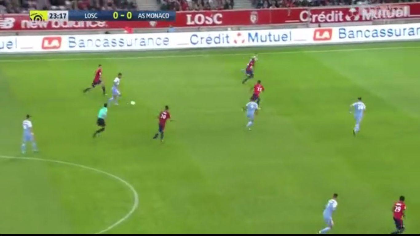 Lille 0-4 Monaco
