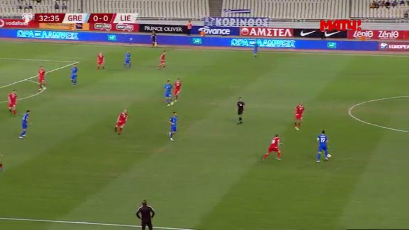 08-09-2019 - Greece 1-1 Liechtenstein (EURO QUALIF.)