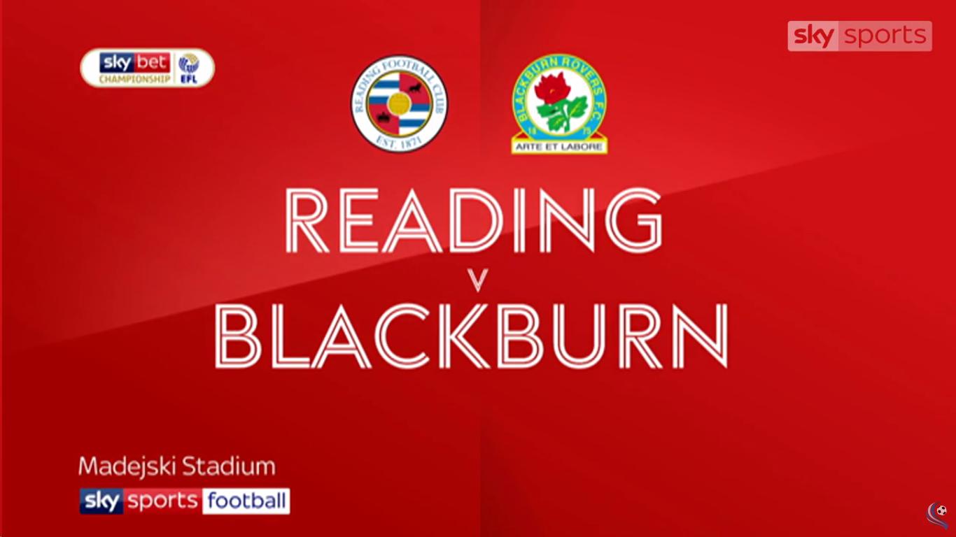 13-02-2019 - Reading 2-1 Blackburn Rovers (CHAMPIONSHIP)