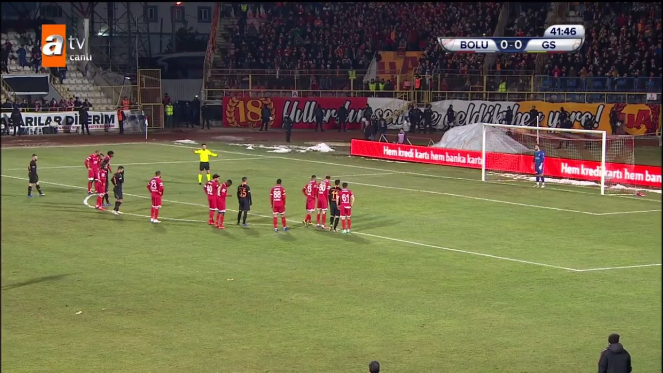 22-01-2019 - Boluspor 0-1 Galatasaray (ZIRAAT CUP)