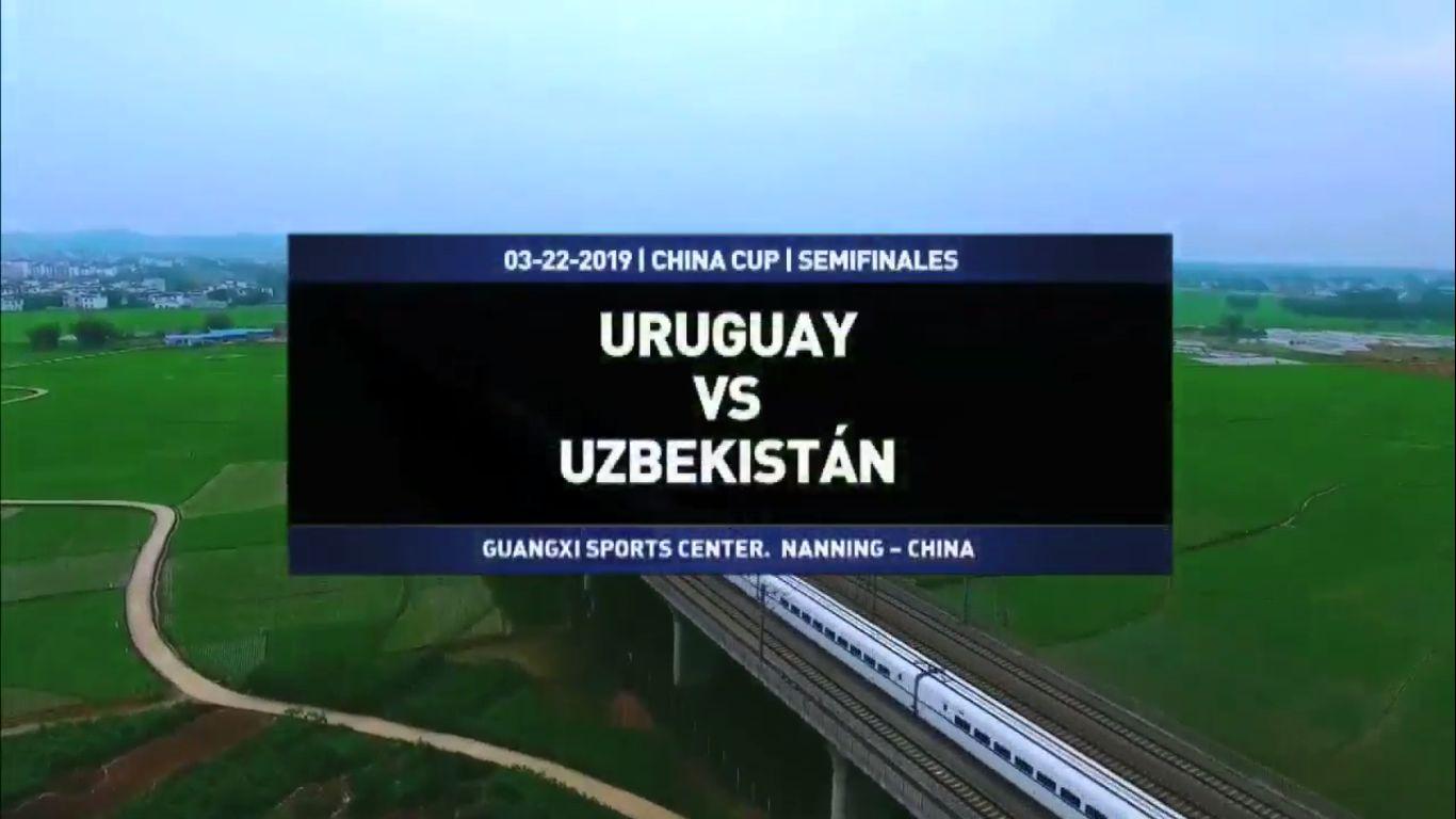 22-03-2019 - Uruguay 3-0 Uzbekistan (CHINA CUP)