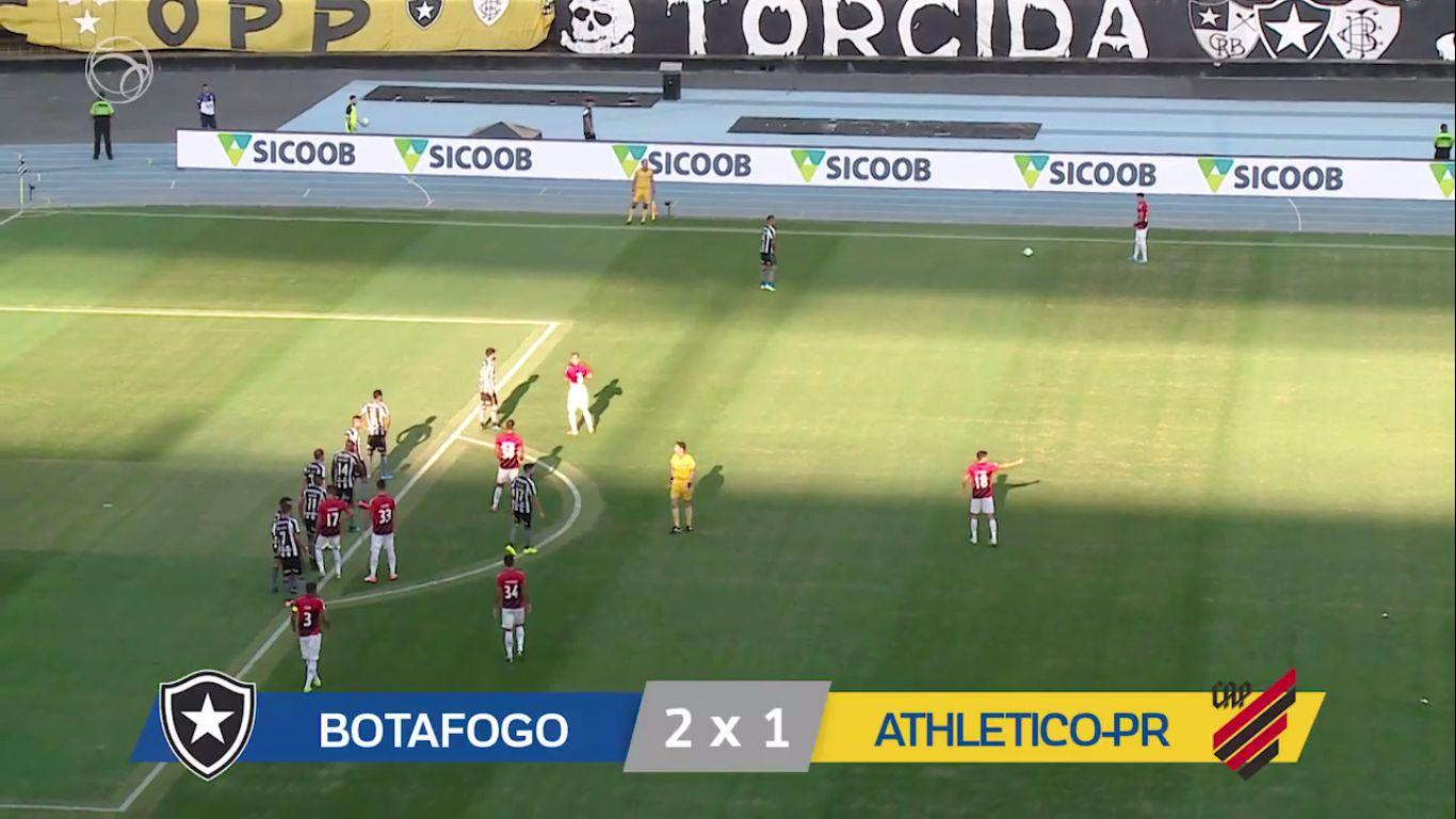 12-08-2019 - Botafogo FR RJ 2-1 CA Paranaense PR