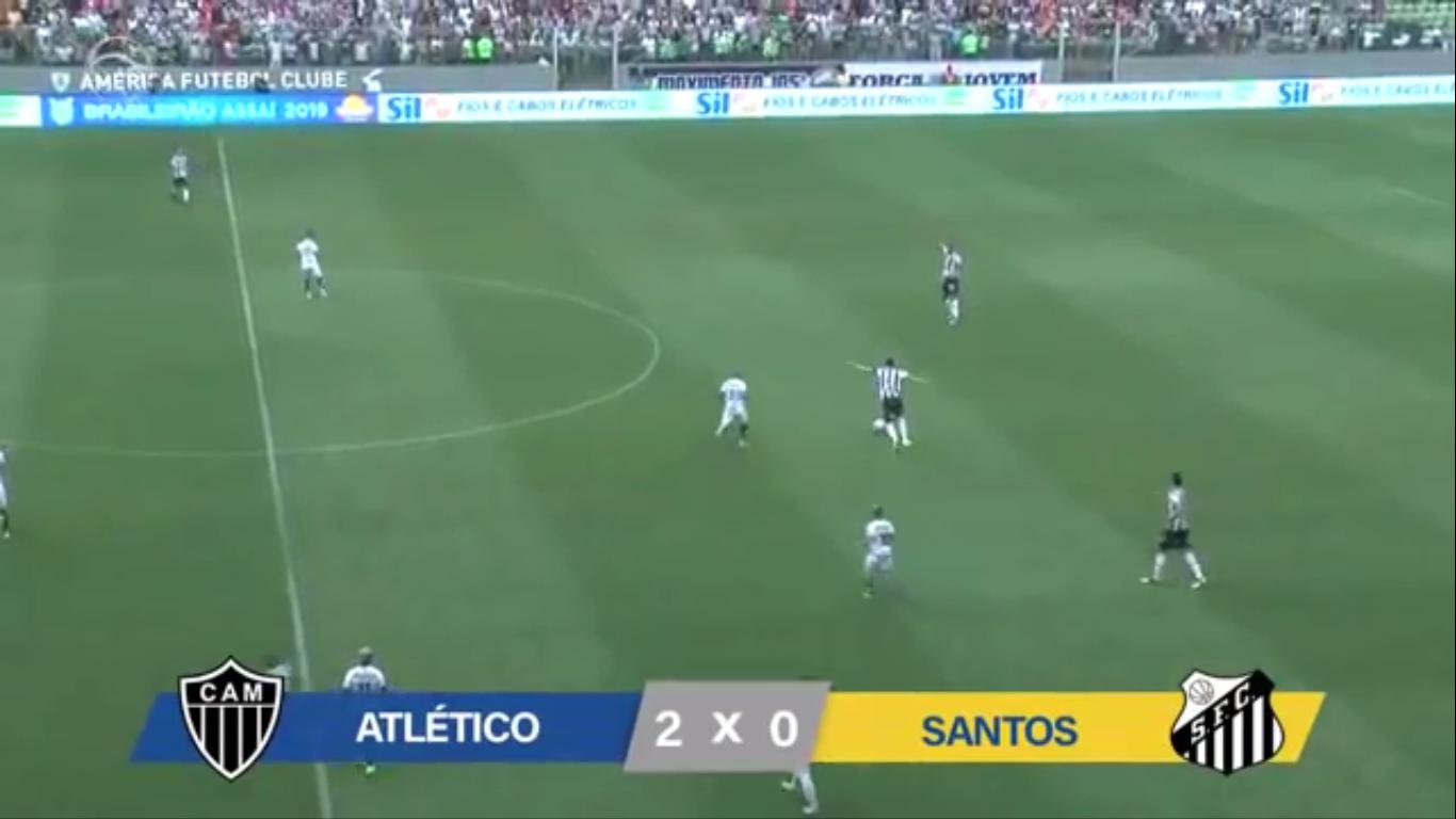 21-10-2019 - Atletico Mineiro MG 2-0 Santos FC SP