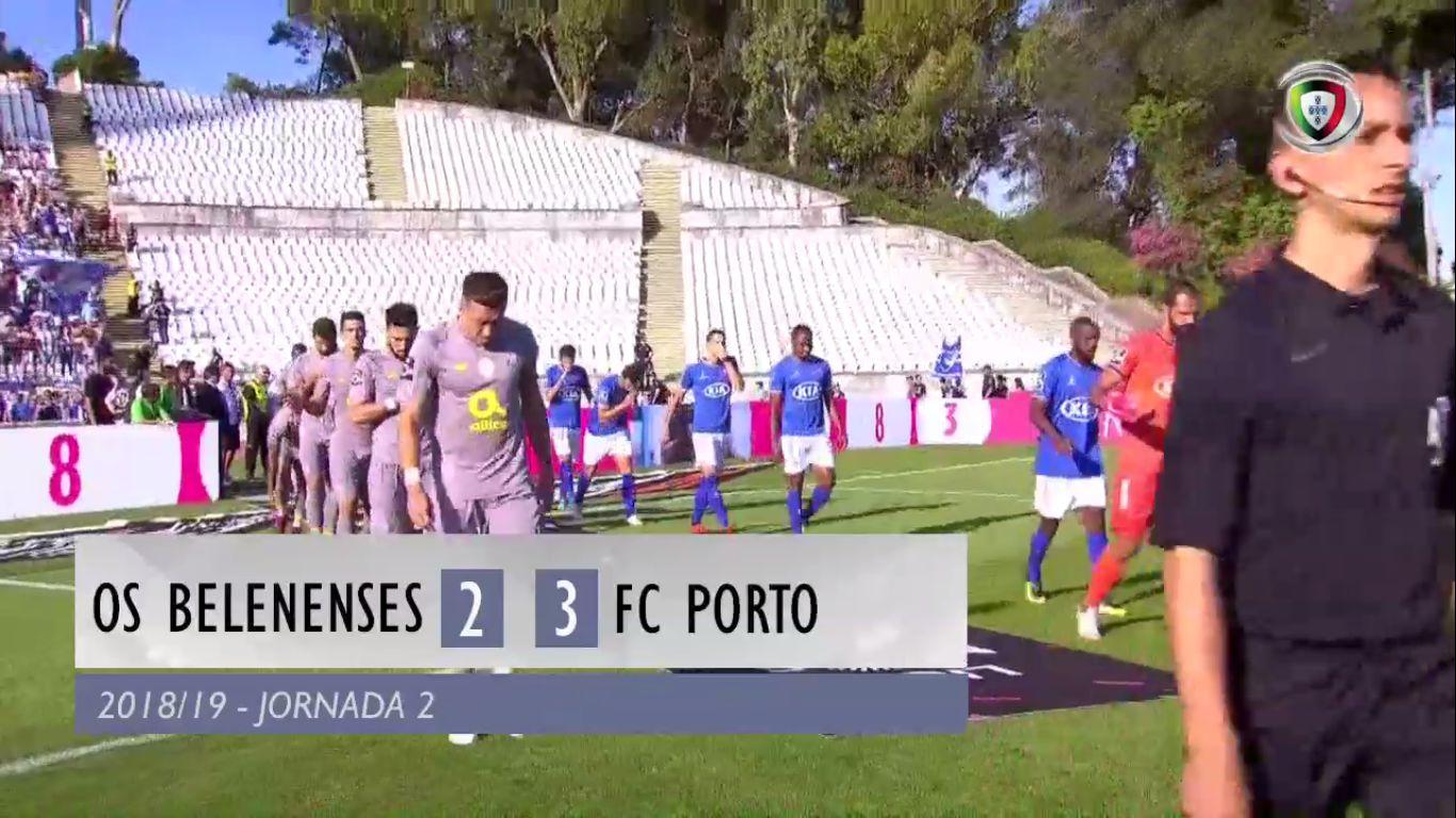 19-08-2018 - Belenenses 2-3 FC Porto