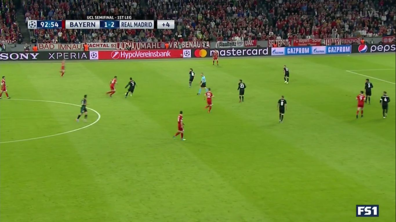 25-04-2018 - Bayern Munich 1-2 Real Madrid (CHAMPIONS LEAGUE)