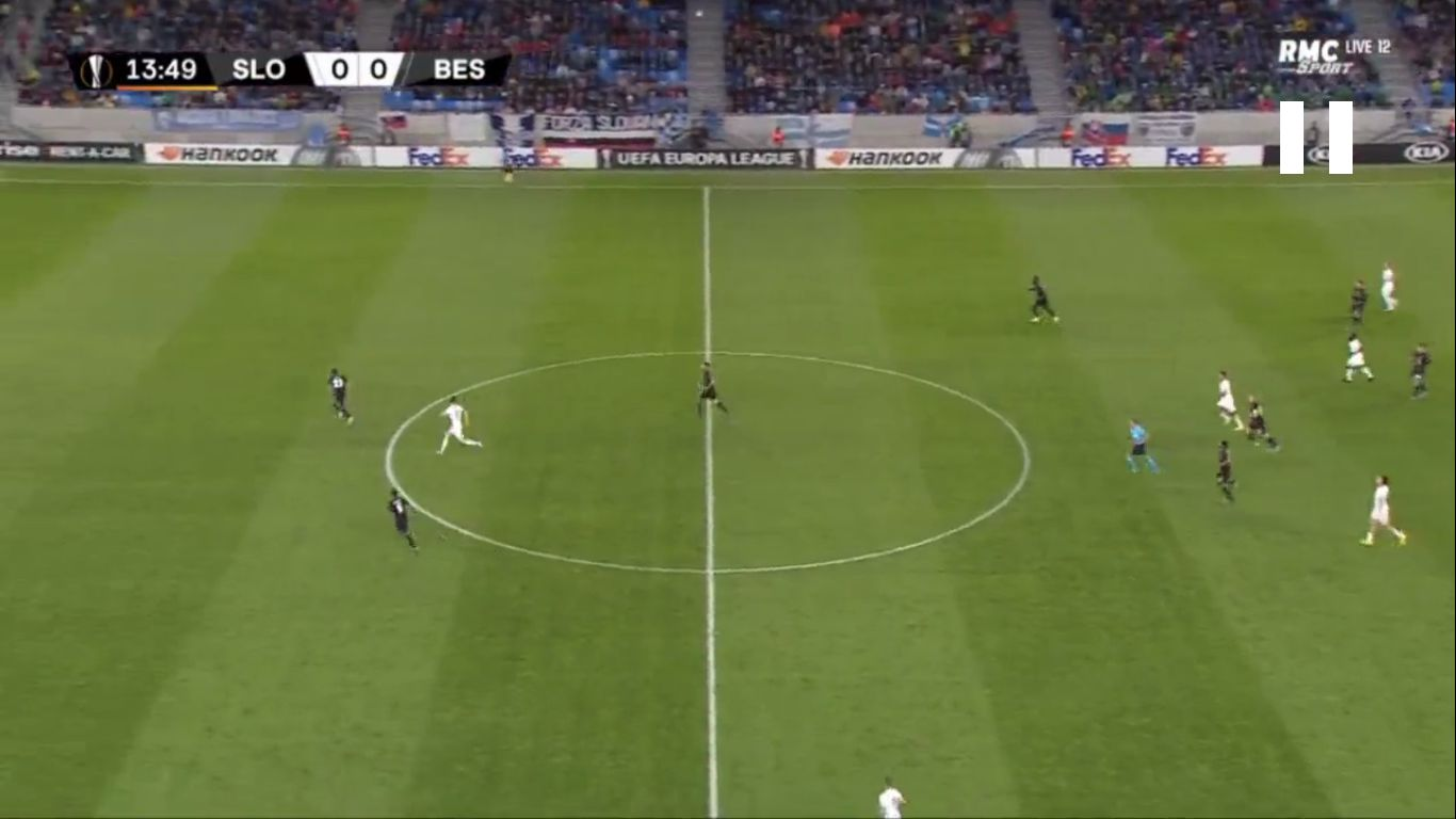 19-09-2019 - Slovan Bratislava 4-2 Besiktas (EUROPA LEAGUE)