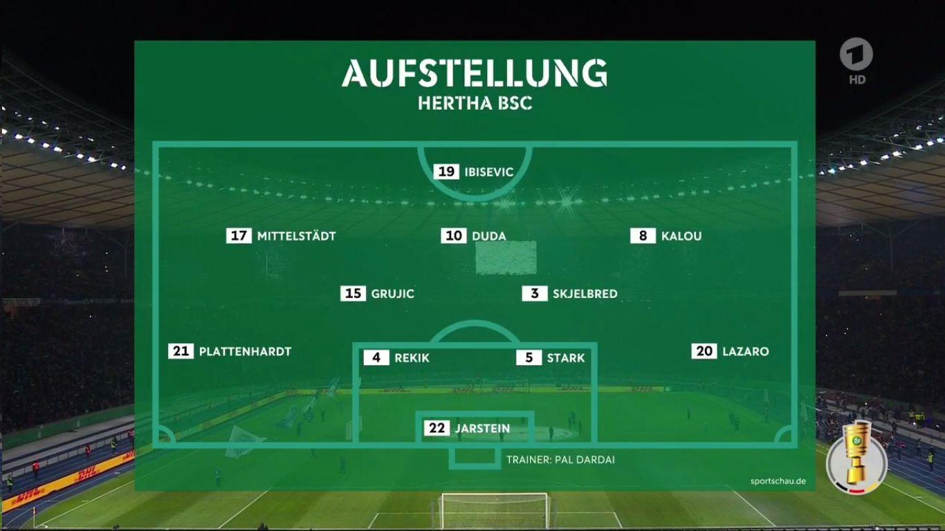 06-02-2019 - Hertha BSC 2-3 FC Bayern Munchen (DFB POKAL)