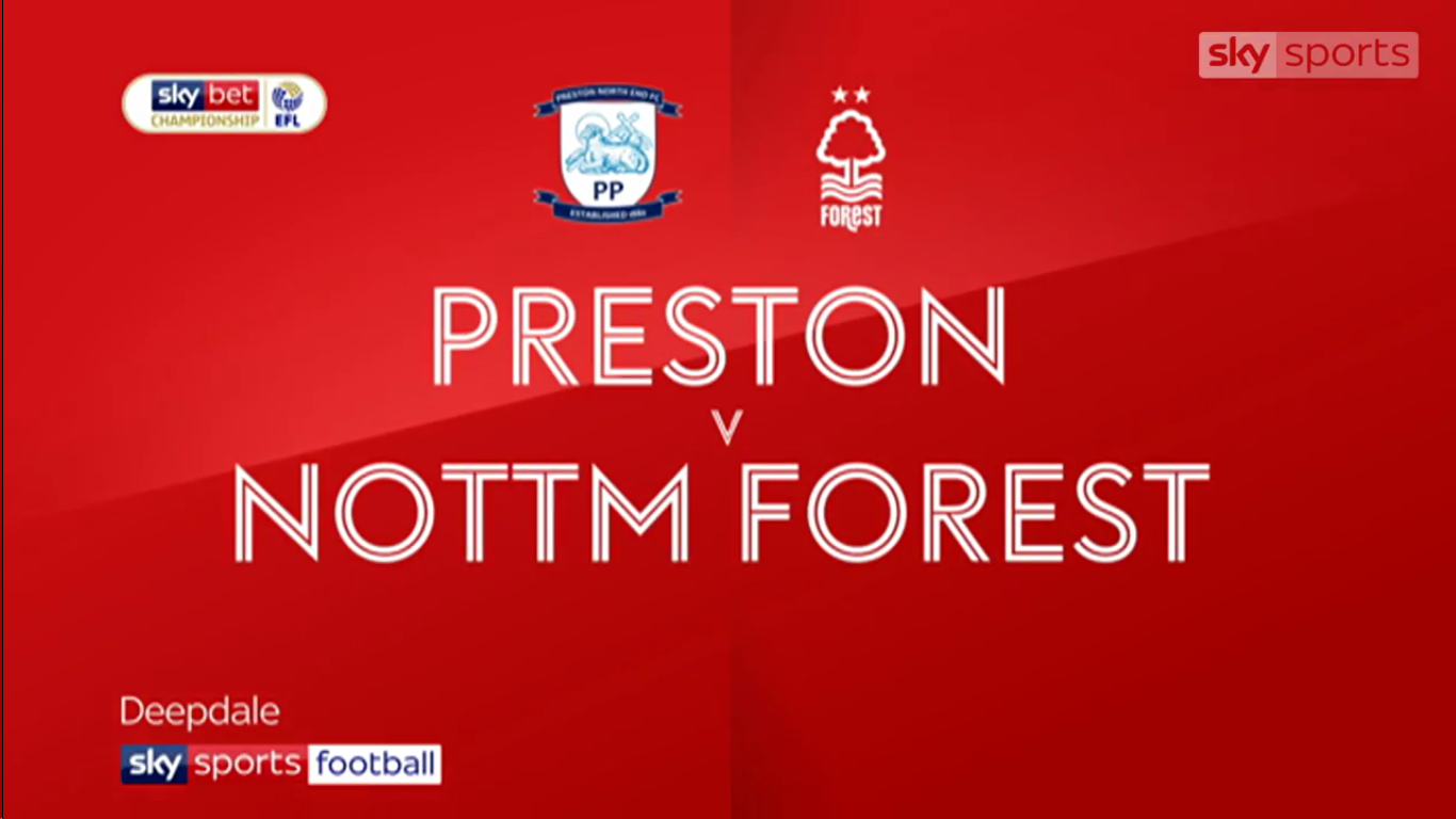 16-02-2019 - Preston North End 0-0 Nottingham Forest (CHAMPIONSHIP)