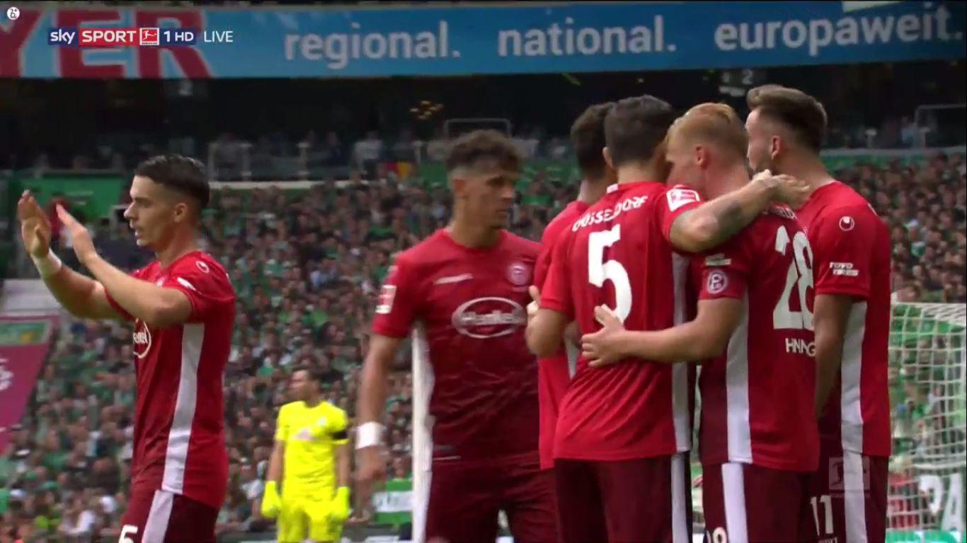 17-08-2019 - Werder Bremen 1-3 Fortuna Dusseldorf