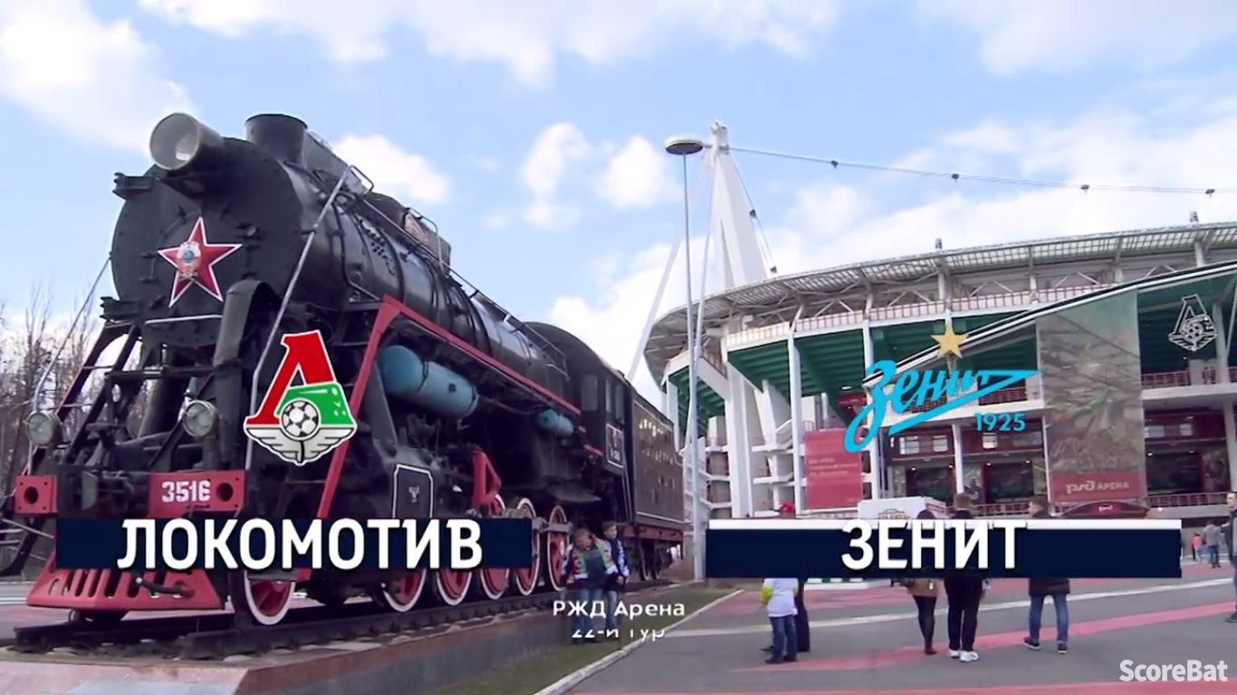 07-04-2019 - FC Lokomotiv Moscow 1-1 Zenit St. Petersburg