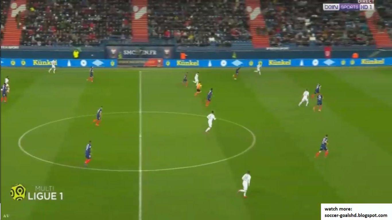 16-03-2019 - Caen 0-5 Saint-Etienne
