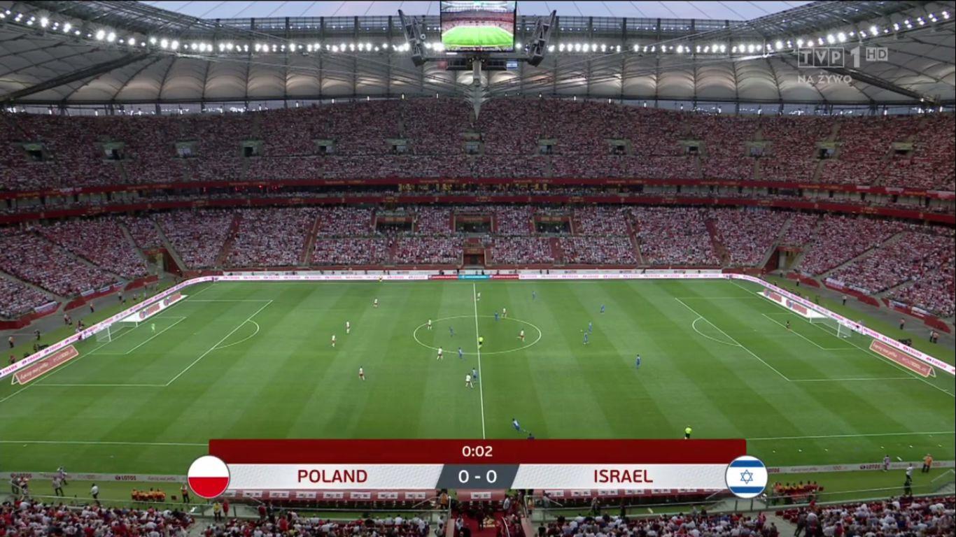 10-06-2019 - Poland 4-0 Israel (EURO QUALIF.)