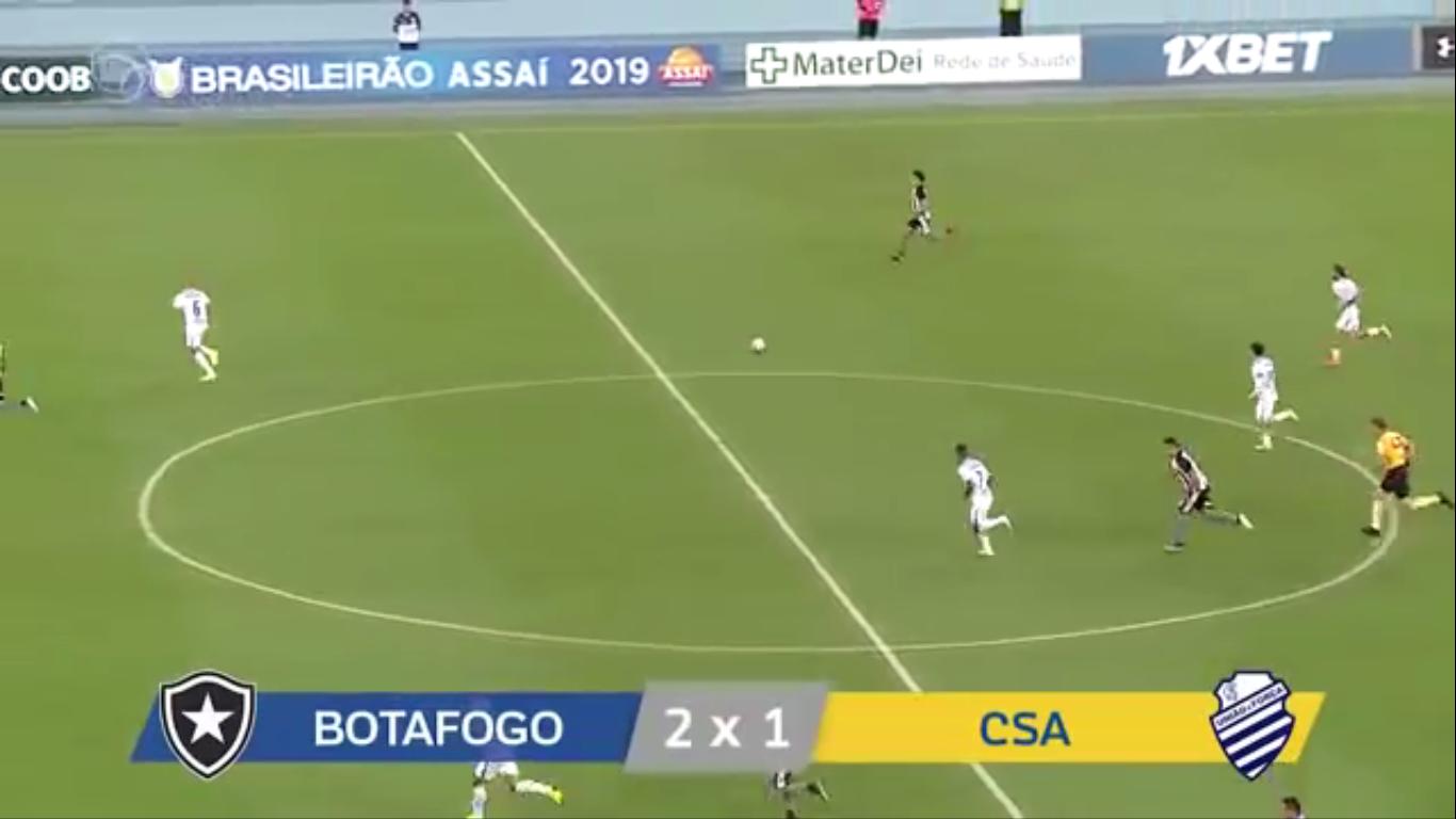 22-10-2019 - Botafogo FR RJ 2-1 CSA AL