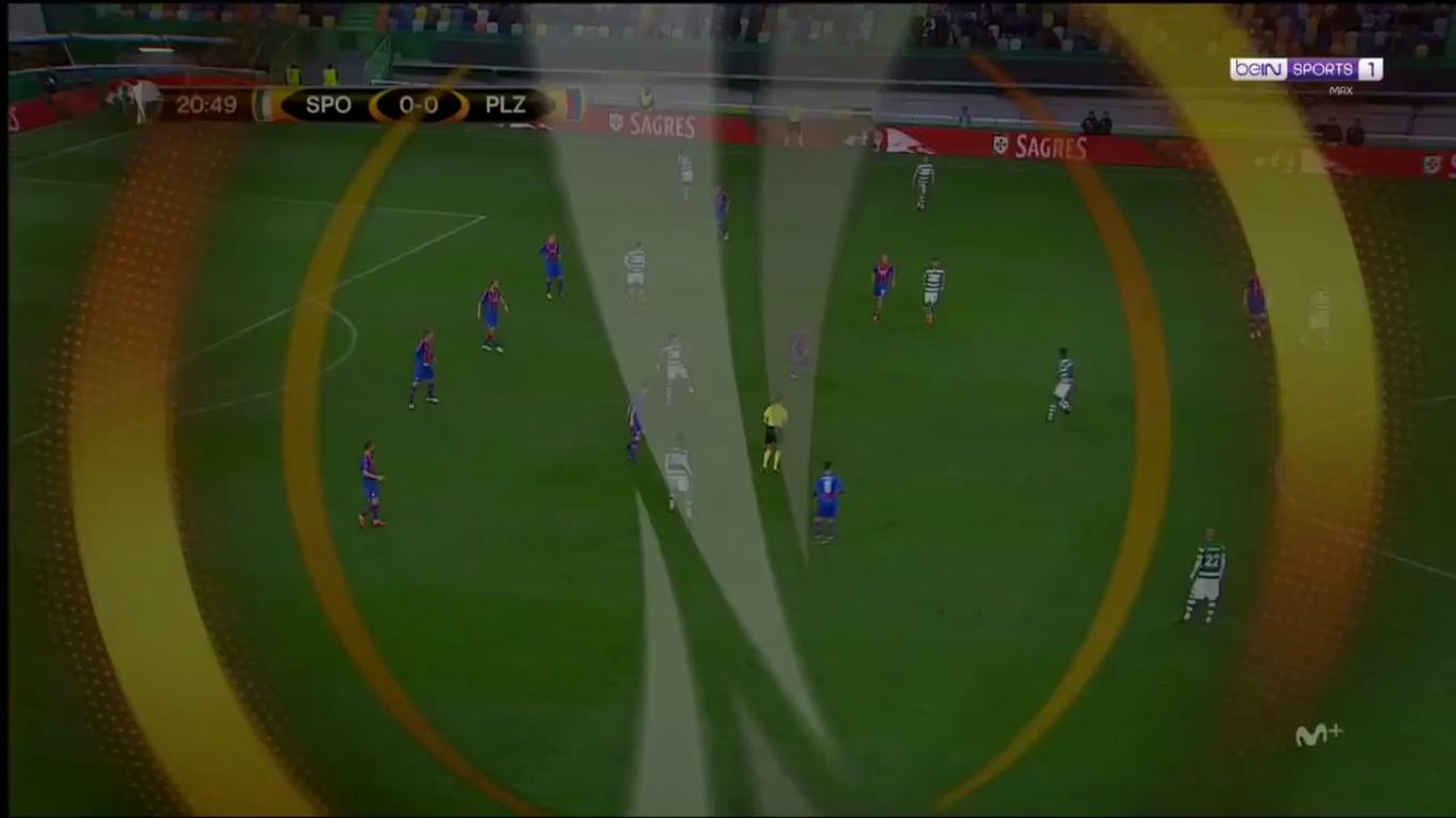 08-03-2018 - Sporting CP 2-0 Viktoria Plzen (EUROPA LEAGUE)