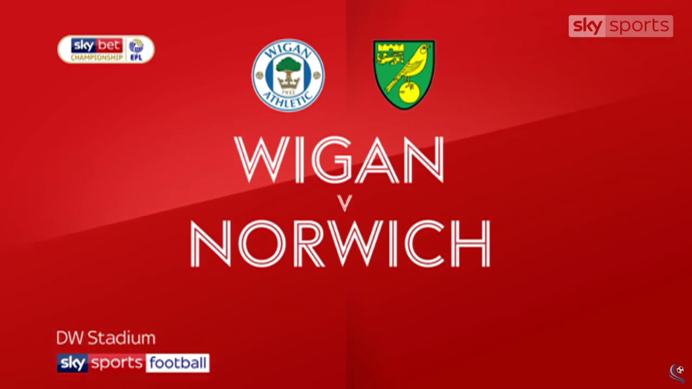 14-04-2019 - Wigan Athletic 1-1 Norwich City (CHAMPIONSHIP)