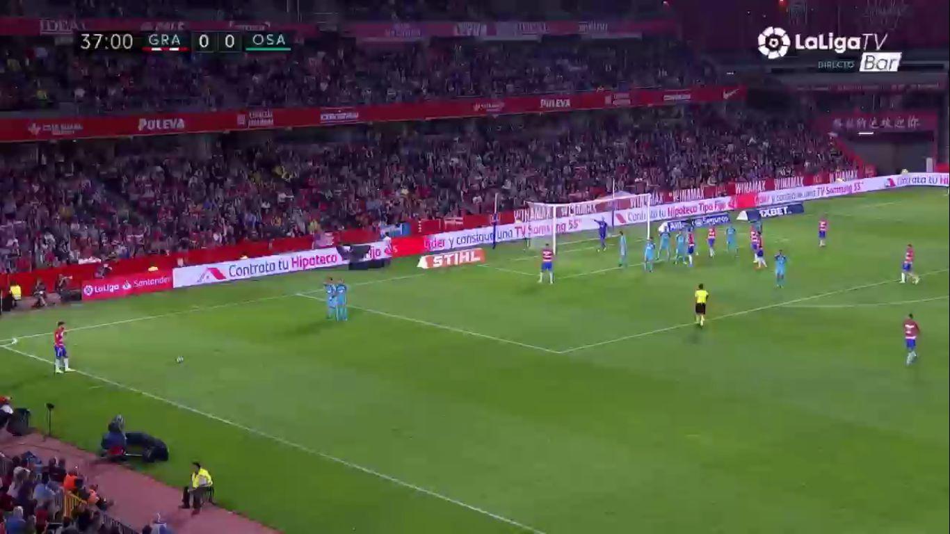 18-10-2019 - Granada 1-0 Osasuna