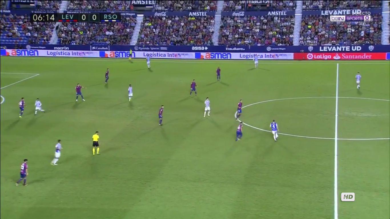Levante 3-0 Real Sociedad
