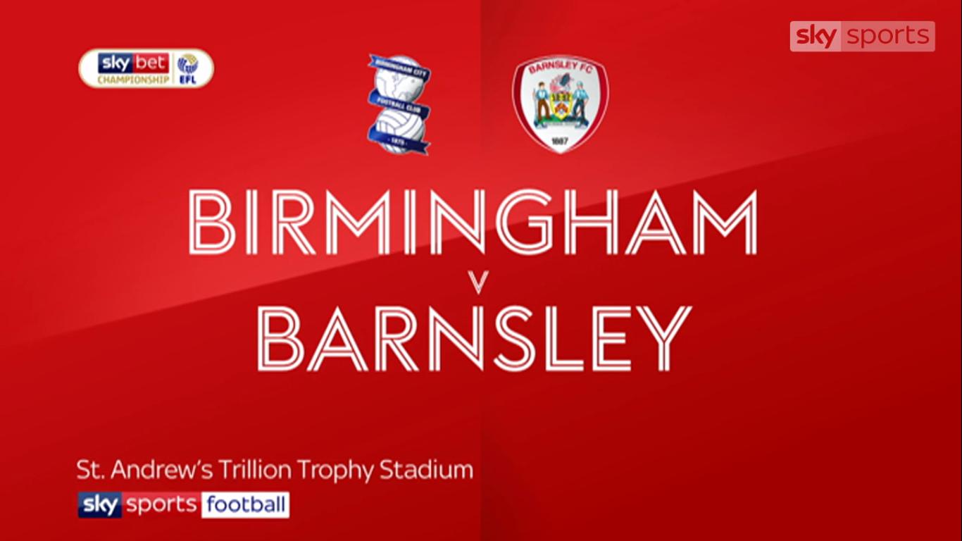 20-08-2019 - Birmingham City 2-0 Barnsley (CHAMPIONSHIP)