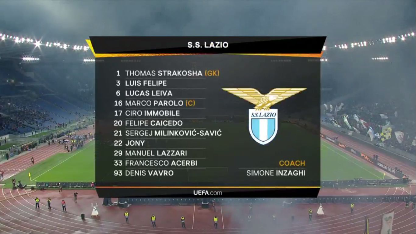 07-11-2019 - Lazio 1-2 Celtic (EUROPA LEAGUE)