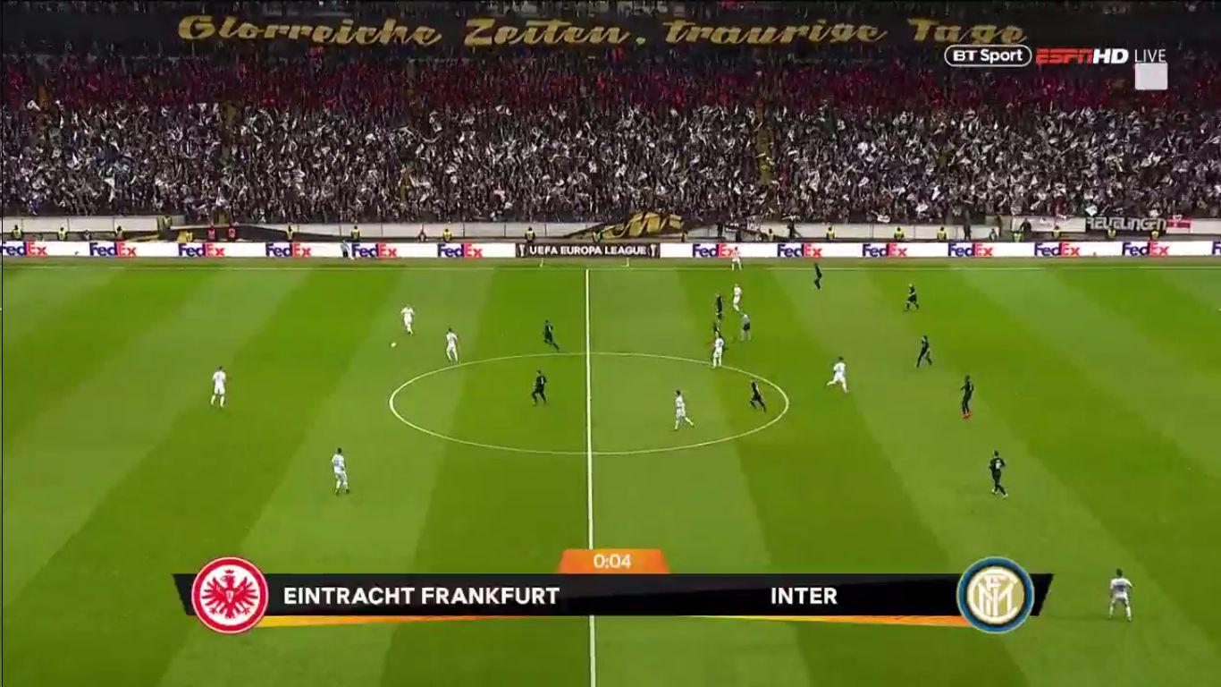 07-03-2019 - Eintracht Frankfurt 0-0 Inter (EUROPA LEAGUE)